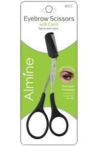 Almine Eyebrow Scissors with Comb