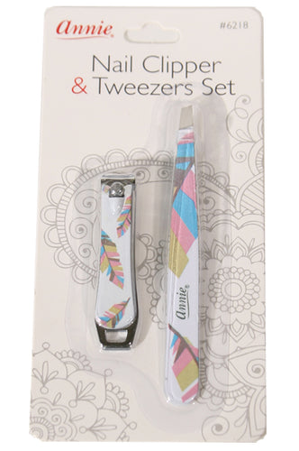 Nail Clipper & Tweezers Set