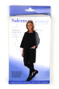 Salerno Cover Up - Lightweight Smooth Nylon White