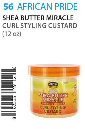 African Pride SB Miracle Curl Styling Custard 12oz