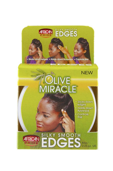 African Pride Olive Miracle Edges 2.25oz