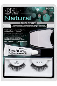 Natural Lashes Starter kit (101 Demi Black Lashes)