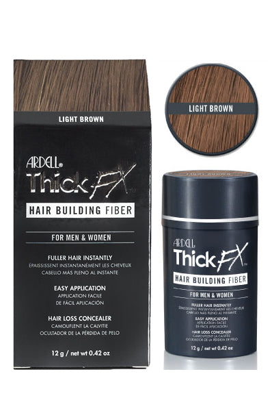 Ardell ThickFX Hair Building Fiber - Light Brown 0.42oz