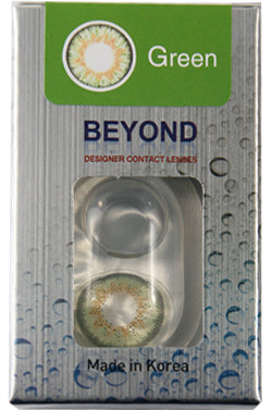 Beyond Contact Lenses - Green