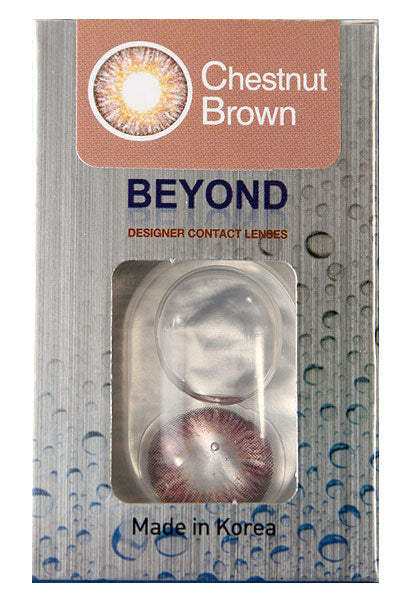 Beyond Contact Lenses - Chestnut Brown