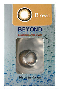 Beyond Contact Lenses - Brown