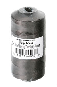 Dis-Nylon Corn Style Weaving Thread  Black