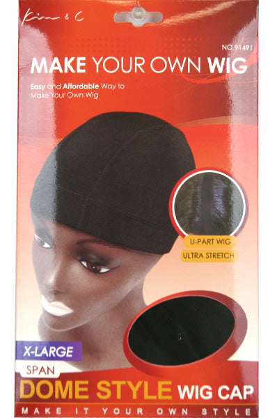 Spandex Dome Cap X-Large