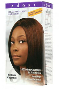 Adore Cream Permanent Hair Color # Medium Chestnut