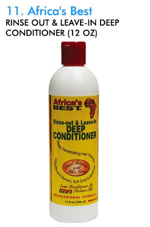 Africa's Best Rinse Out & Leave-In Deep Conditioner 12oz