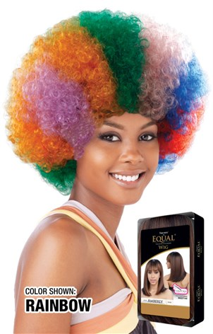 Freetress Equal Afro Medium, Synthetic Hair Wig