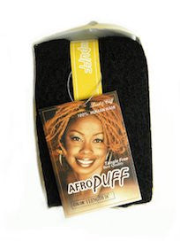 "Afro Puff 16"", 100% Human Hair for Braids and Twists"