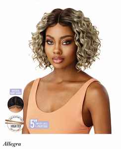 Lace Front Wig Allegra, Synthetic Hair Wig