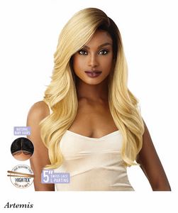 Lace Front Wig Artemis, Synthetic Hair Wig