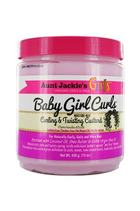 Aunt Jackie's Girls Curling Twisting Curstard 15oz