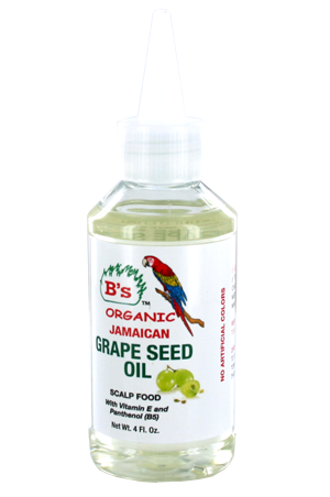 B's Organic Grape Seed Oil Scalp Food 4oz