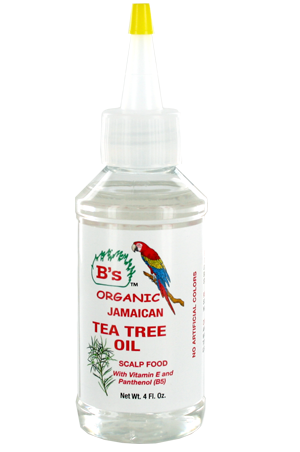 B's Organic Tea Tree Oil Scalp Food 4oz