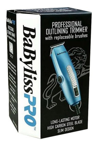 BabylissPRO Professional Outlining Trimmer w/replaceable brushes