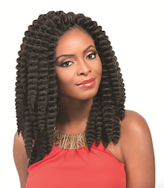 "Bantu Braid 24"", Synthetic Hair Braids"