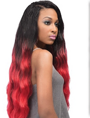 "Batik Tahitian Bundle Hair 24"", Synthetic Bulk Hair"