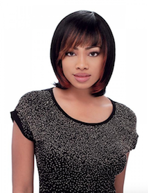 Bump Collection Wig Chic Bob, 100% Human hair Wig