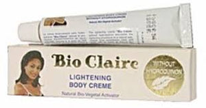 Bio Claire Lightening Body Tube Cream 1 oz / 30ml