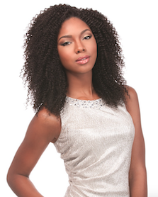 "Peruvian Jerry Bohemian, Natural Hair (Bundle 2*10"", 2*12"", 2*14"")"