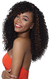 "Bahamas Curl 4 in 1 Loop 24"", Synthetic Braids"