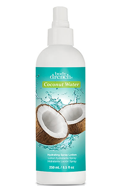 Body Drench Coconut Water Hydrating Spray Lotion 8.5oz