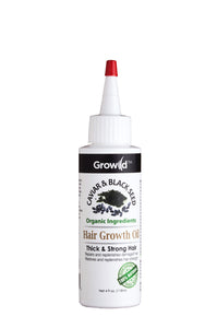 Growild Hair Growth Oil Caviar & Black Seed 4oz