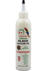 B's Organic Jamaican Black Castor Oil Herbal Conditioner 8oz