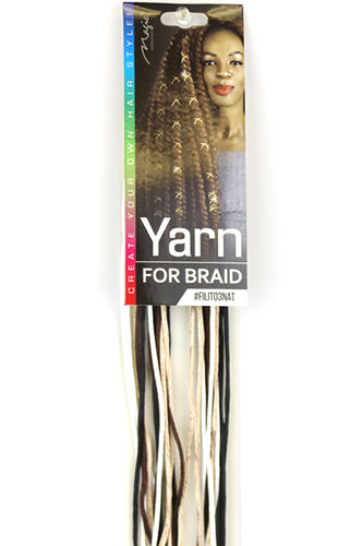 Magic Collection Yarn String for Braids [Silky]