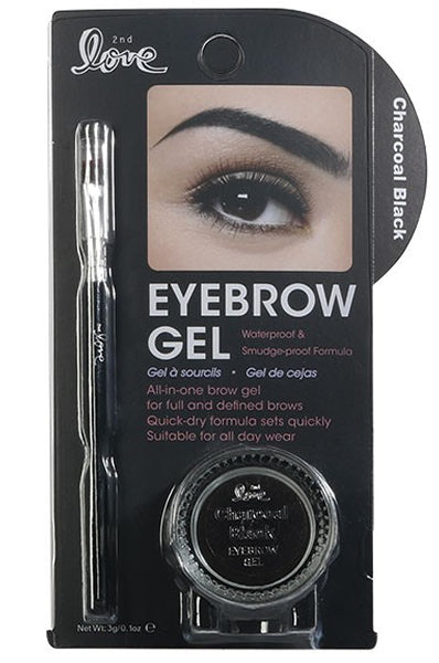 2nd Love Eyebrow Gel - Charcoal 0.1oz