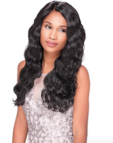 Custom Lace Wig Body Wave, Synthetic Hair Wig