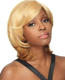 Front Lace Wig Edge Becky, Synthetic Hair Wig