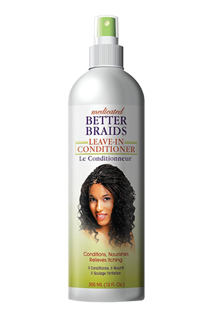 Better Braids Medicated Leave-In Conditioner 12oz