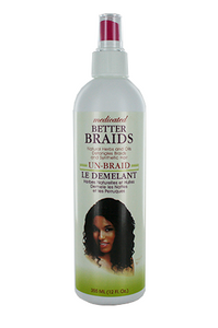Better Braids Medicated Un-Braid Spray 12oz