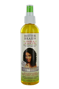Better Braids Hair & Scalp Oil 8oz