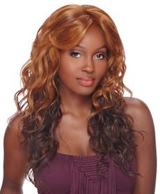 Front Lace Wig Edge Bliss, Synthetic Hair Wig
