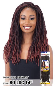 "Freetress Bo Loc 14"",  Synthetic Braids"