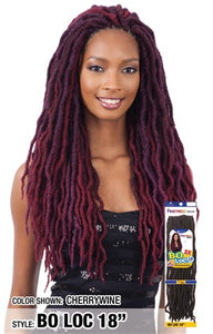 "Freetress Bo Loc 18"",  Synthetic Braids"