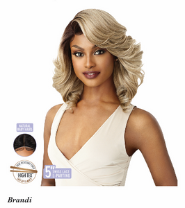 Lace Front Wig Brandi, Synthetic Hair Wig