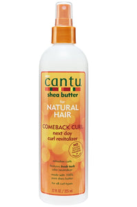 Cantu Natural Hair Comeback Curl Next Day Curl Revitalizer 12oz