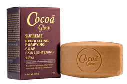 Cocoa Glow Supreme Exfoliating Soap 200g