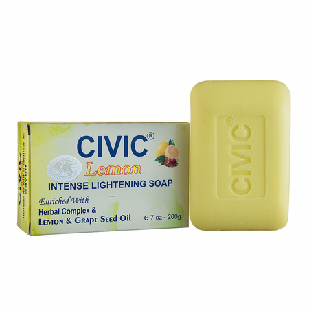 Civic Lemon Intense Lightening Soap 7oz