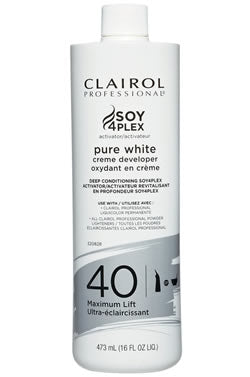 Clairol Pure White Cream Developer 40 (16oz)