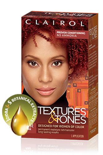 Clairol Textures and Tones 5RR Fire