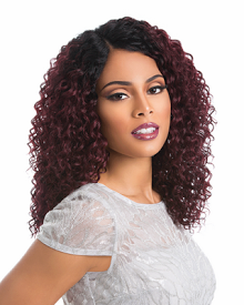 Custom Lace Wig Deep Wave, Synthetic Hair Wig