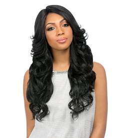 Custom Lace Wig Perm Romance, Synthetic Hair Wig