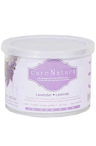 Natural Organic Depilatory Wax [Lavender] 14oz